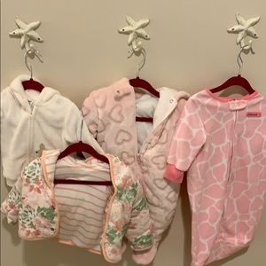 Other - 6-9 month baby jackets and full suit very warm